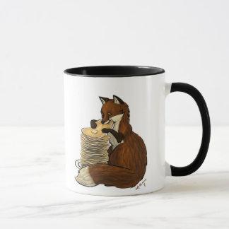 Tasse de Fox de crêpe