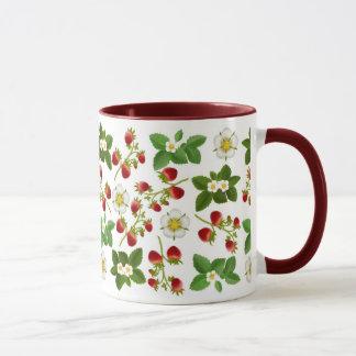 Tasse de fraisiers communs