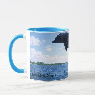Tasse de fréquence de dauphin