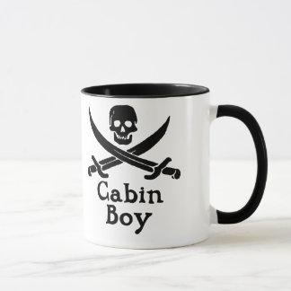 Tasse de garçon de cabine