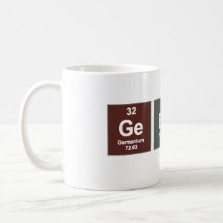 Tasse de geek - éléments chimiques
