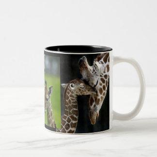 Tasse de girafes mère + Enfant