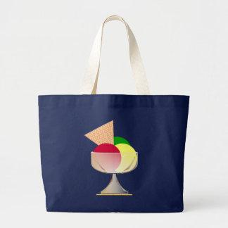 Tasse de glace grand sac
