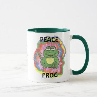Tasse de grenouille de paix