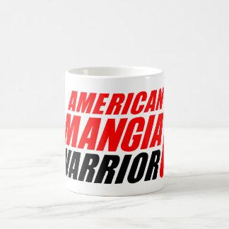 Tasse de guerrier de Mangia d'Américain avec