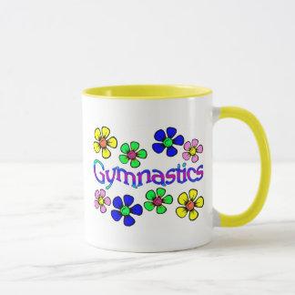 Tasse de gymnastique de flower power