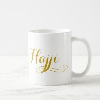 "Tasse de hadj pour les hommes avec le mot ""hadji """