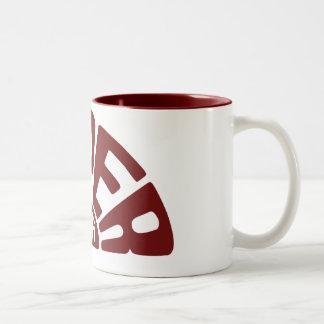 Tasse de haute fidélité superbe rouge