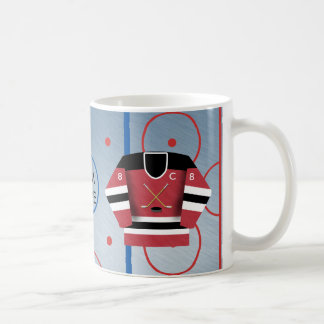 Tasse de Jersey d'équipe de hockey de glace