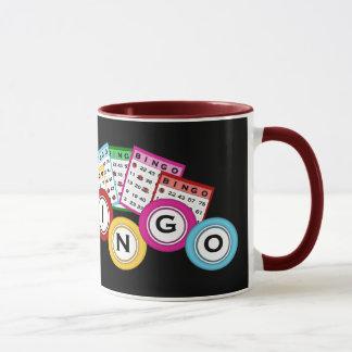 Tasse de jeu de bingo-test