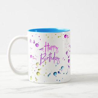 Tasse de joyeux anniversaire