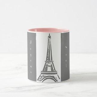 Tasse de Joyeux Noel de Tour Eiffel