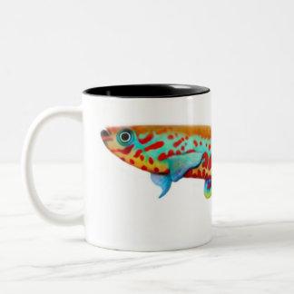 Tasse de Killifish de Fundulopanchax Gardneri
