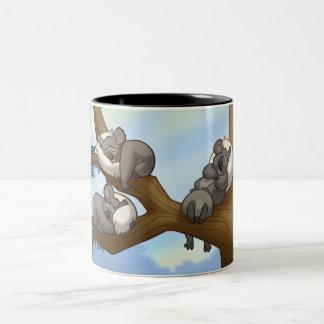 Tasse de koala de sommeil