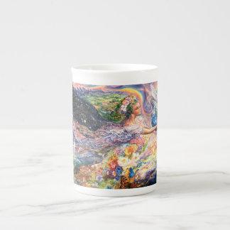 Tasse de la Chine d'ange de la terre Mug En Porcelaine