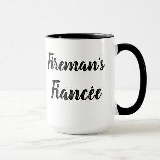 Tasse de la fiancée du pompier