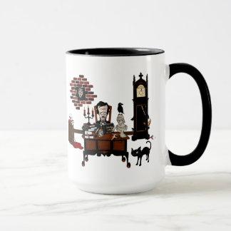 """Tasse """"de la folie du Poe"""""""
