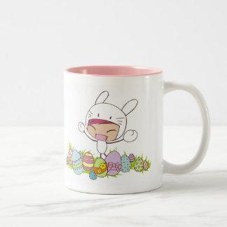 Tasse de lapin de Pâques