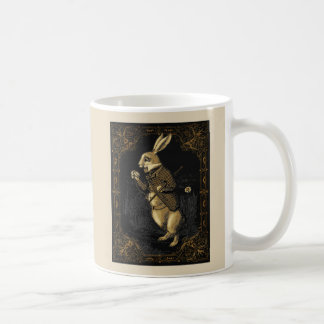 Tasse de lapin du pays des merveilles d'Alice