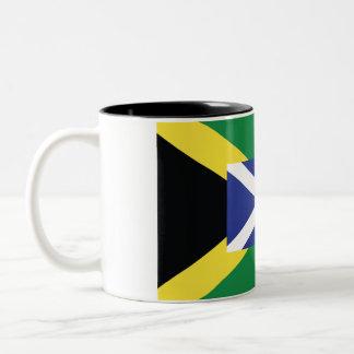 Tasse de l'Ecosse/de Jamaïque
