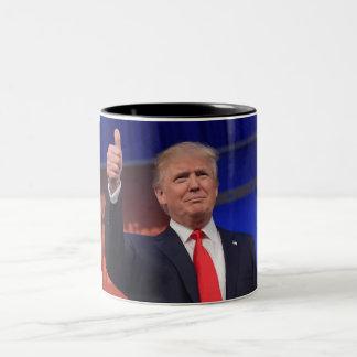 Tasse de l'élection 2016 de Donald Trump