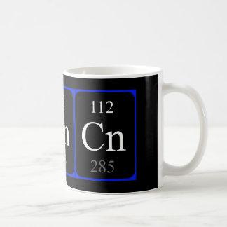 Tasse de l'élément 112 - Copernicium
