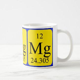 Tasse de l'élément 12 - magnésium