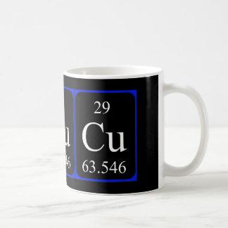 Tasse de l'élément 29 - cuivre
