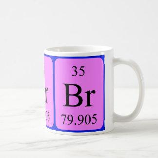Tasse de l'élément 35 - brome