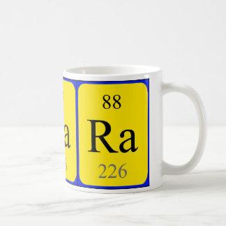 Tasse de l'élément 88 - radium