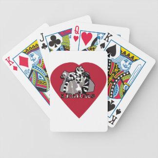 Tasse de lémur jeu de poker