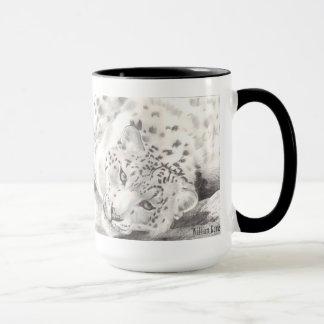 Tasse de léopard de neige
