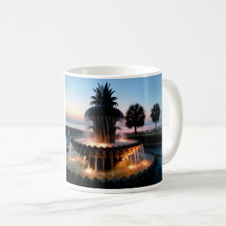 Tasse de lever de soleil de Charleston