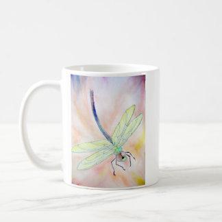 Tasse de libellule : Mouche bien, la lumineuse !