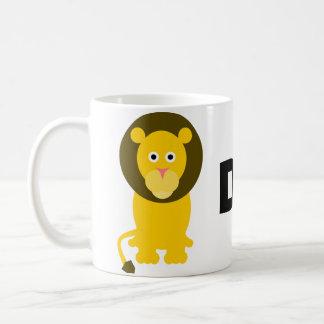 Tasse de lion de papa