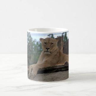 Tasse de lionne