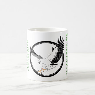 Tasse de logo de Mer-EagleCAM