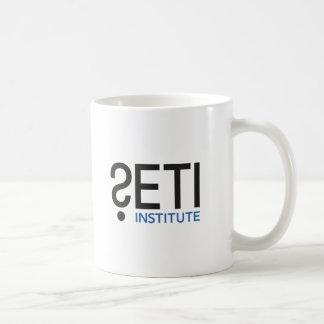 Tasse de logo de SETI avec l'équation de Drake