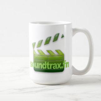 Tasse de logo de Soundtrax