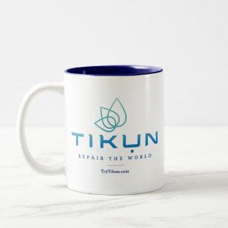 Tasse de logo de Tikun