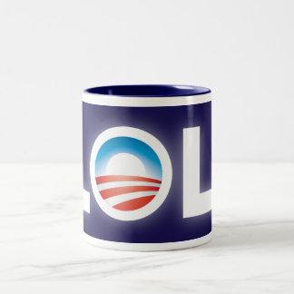 Tasse de LOL Obama