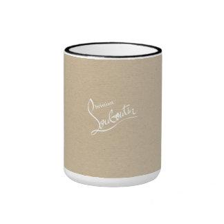 TASSE de Louboutin Papier d'emballage