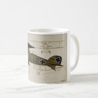 Tasse de lt Von Hipple WWI Coffee d'Albatros
