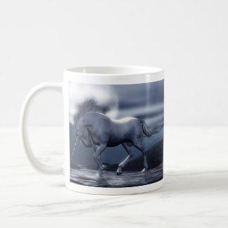Tasse de lune de licorne