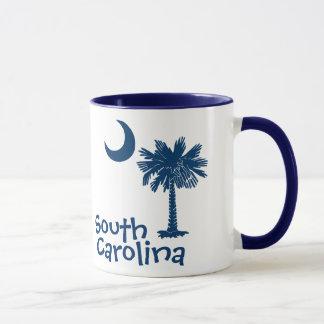 Tasse de lune de Palmetto de la Caroline du Sud