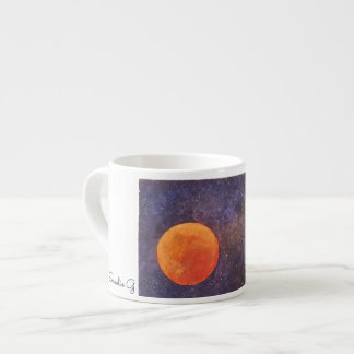 Tasse de lune d'orange sanguine de Sandie G