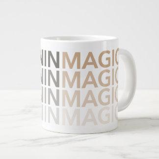 Tasse de magie de mélanine