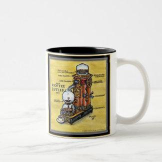 Tasse de maître d'hôtel de café de Steampunk