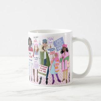 Tasse de mars des femmes