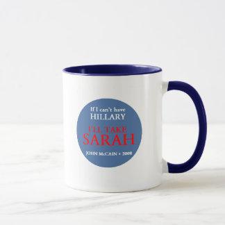 Tasse de McCain Palin HILLARY